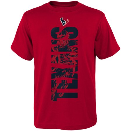Youth Red Houston Texans Side T-Shirt](Houston Texans Tailgate Gear)