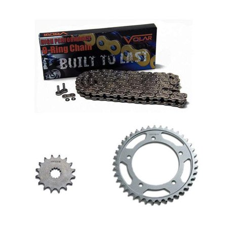 1996-1999 Honda CBR900RR O-Ring Chain and Sprocket Kit - Nickel