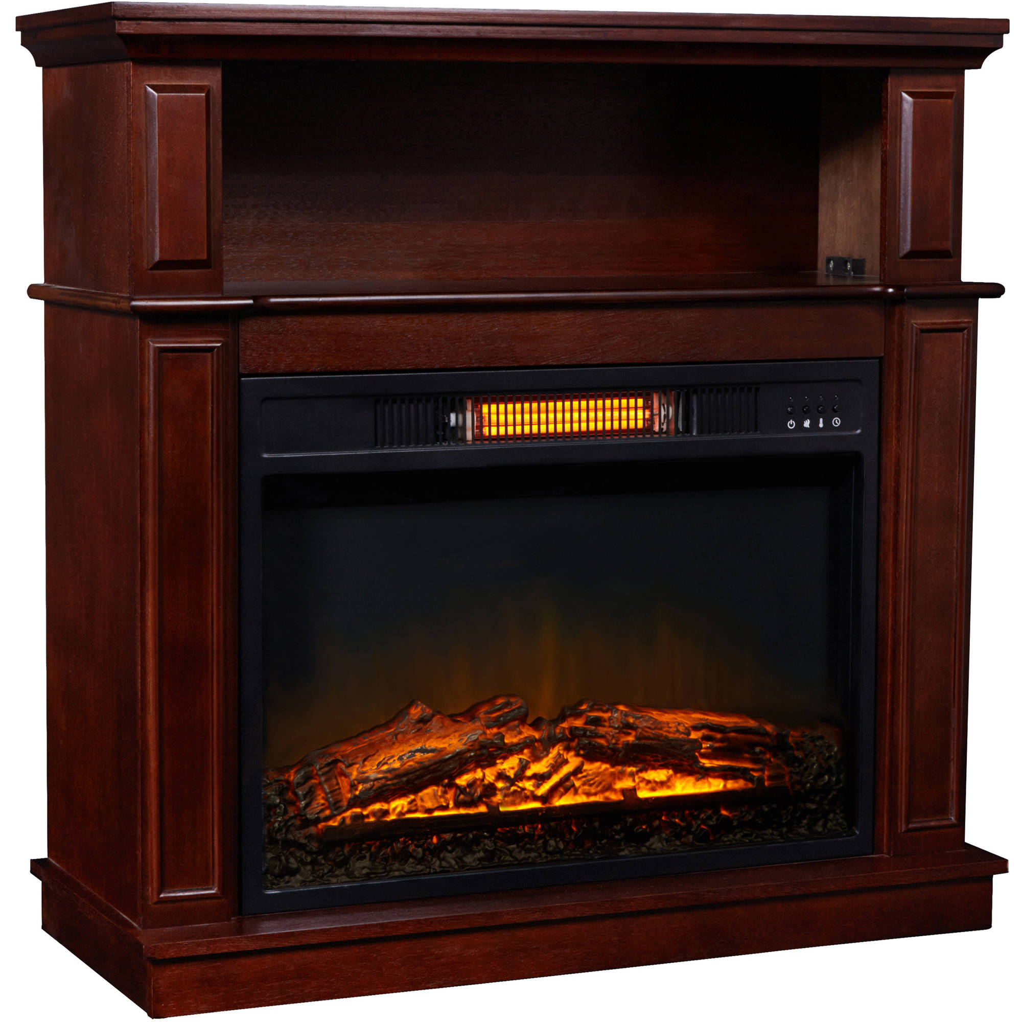 infrared fireplace with 32