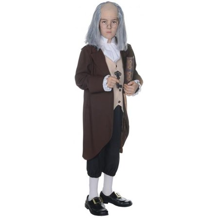 Ben Ten Costume (Ben Franklin Child Costume, Size)