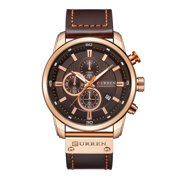 Curren Watch Quartz Wrist Analog Digital Leather Fashion Casual Business Men Sports Watches