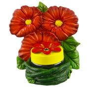 Red Carpet Studios Hummingbird Feeder 3  Flowers