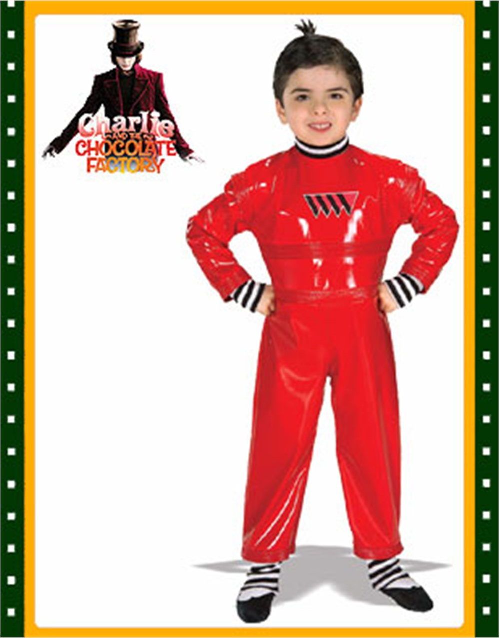 Oompa Loompa Charlie Chocolate Factory Child Costume - Walmart.com