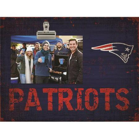 Fan Creations 7846018064 New England Patriots Clip Frame - image 1 de 1