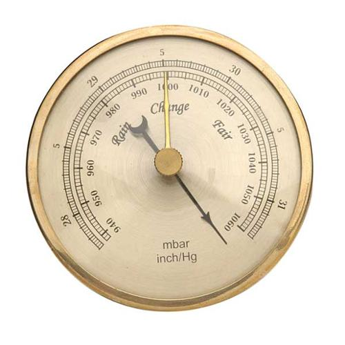 GENERAL ABAR300 Barometer, Analog, 940 to 1060 mBar