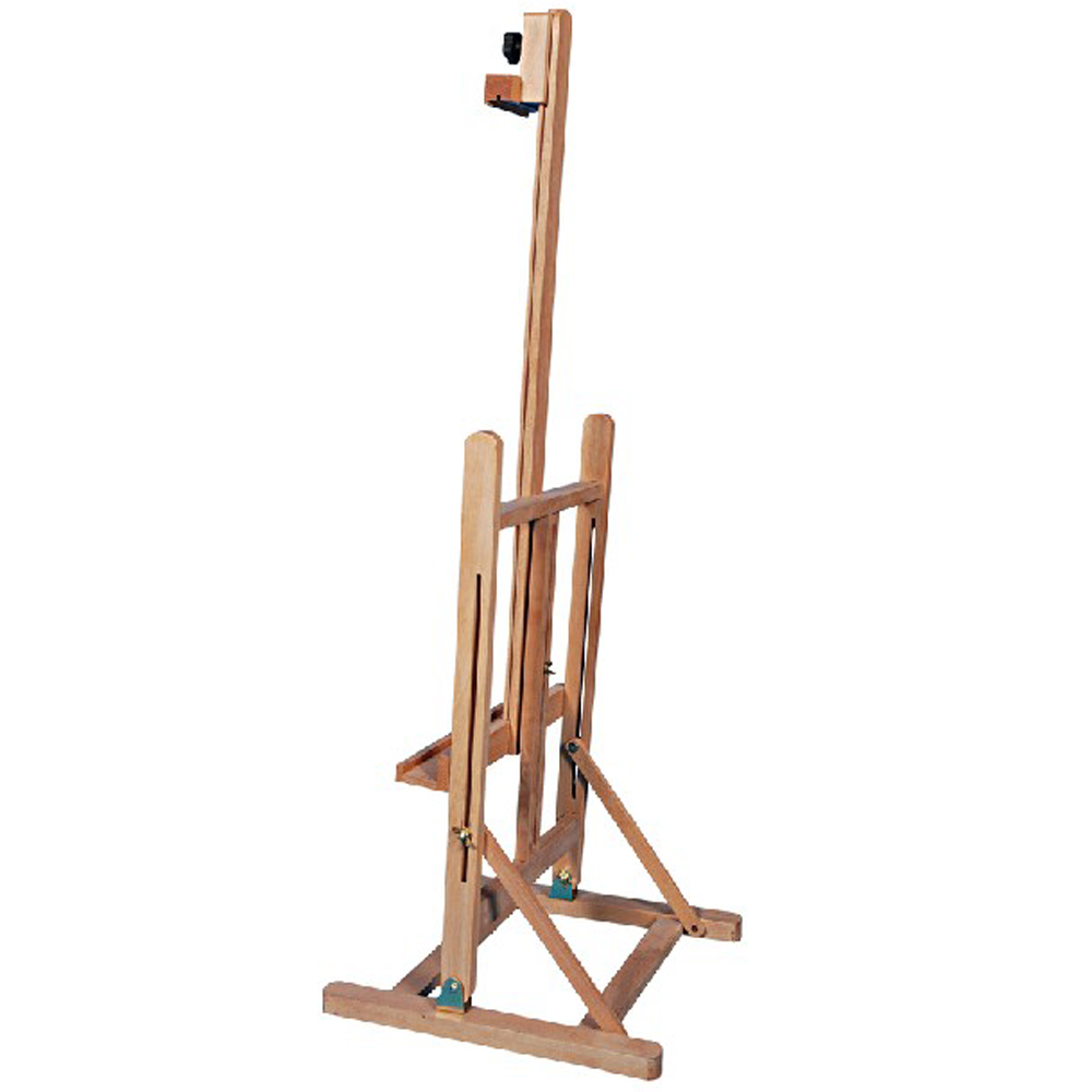 "Zimtown 42"" to 69"" Height Adjustable Easel Stand, Folding Portable Beechwood H Frame Deluxe Studio Easel, for Artist Drawing, for Studio Painting Display - image 8 of 9"