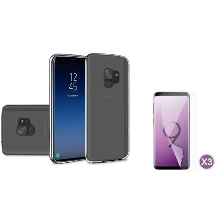 Insten TPU Gel Clear Phone Case Cover For Samsung Galaxy S9, Smoke
