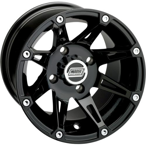 Moose Racing 387x Wheel Front 14x7 Black Fits 09 12 Polaris Rzr S