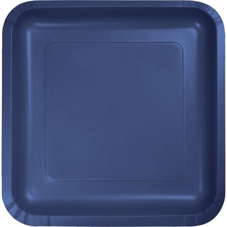 - Creative Converting Navy Blue Paper Plates, 18 ct