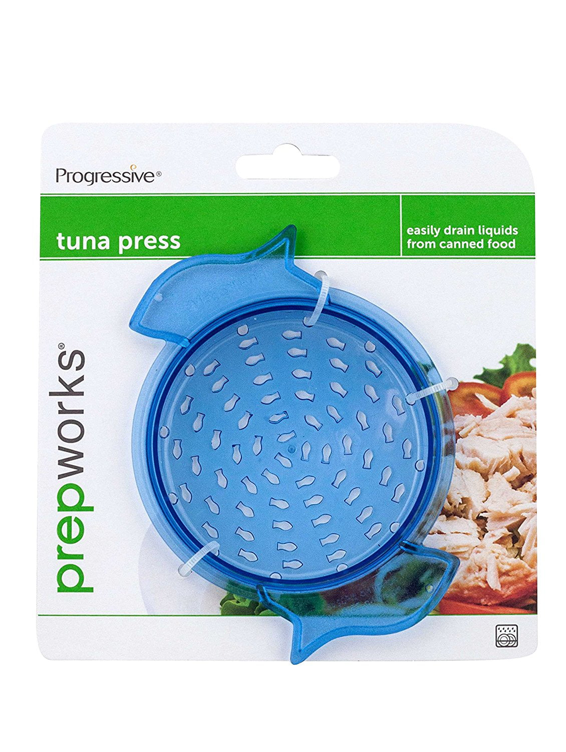 Progressive Prepworks Tuna Vegetable Can Press Drainer Strainer, Dishwasher Safe by Progressive