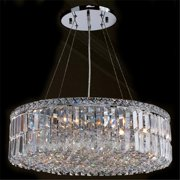 Worldwide Lighting Cascade 12-Light Crystal Chandelier