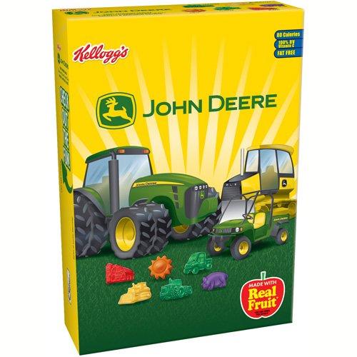 Kellogg's John Deere Assorted Fruit Flavored Snacks, 9 oz