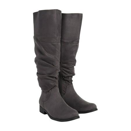 6ba5a18e617 maurices - Greta Scrunch Tall Boot - Walmart.com