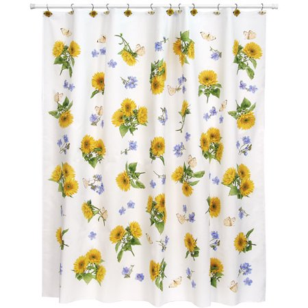 Sweet Sunflowers Shower Curtain
