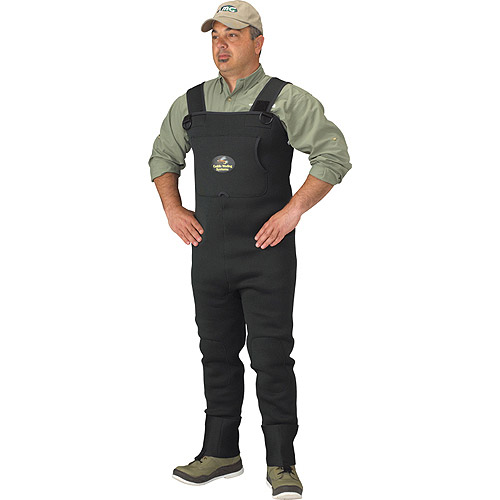 Caddis Systems 3.5 mm Neoprene Stocking Foot Wader, Forest Green by Generic