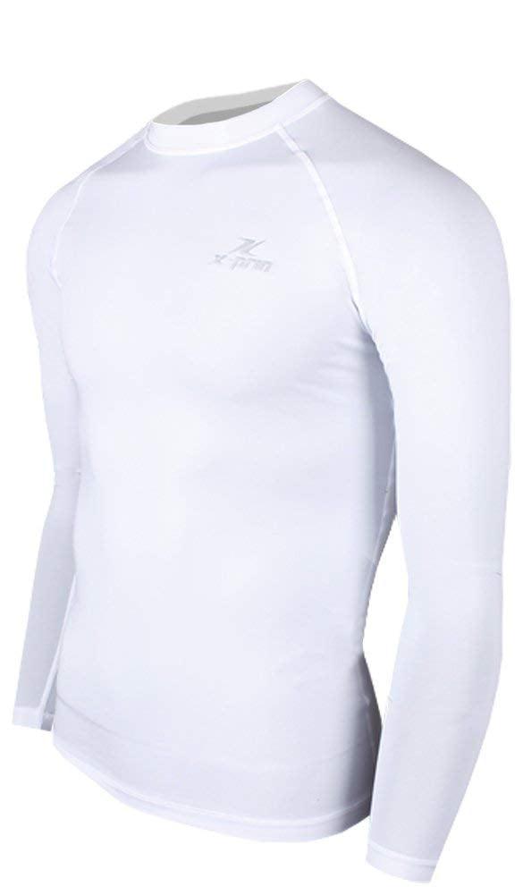 XP100 Series Base Layer Compression Long Sleeve Sports Wear uv 97.5% M XP105 by XPRIN