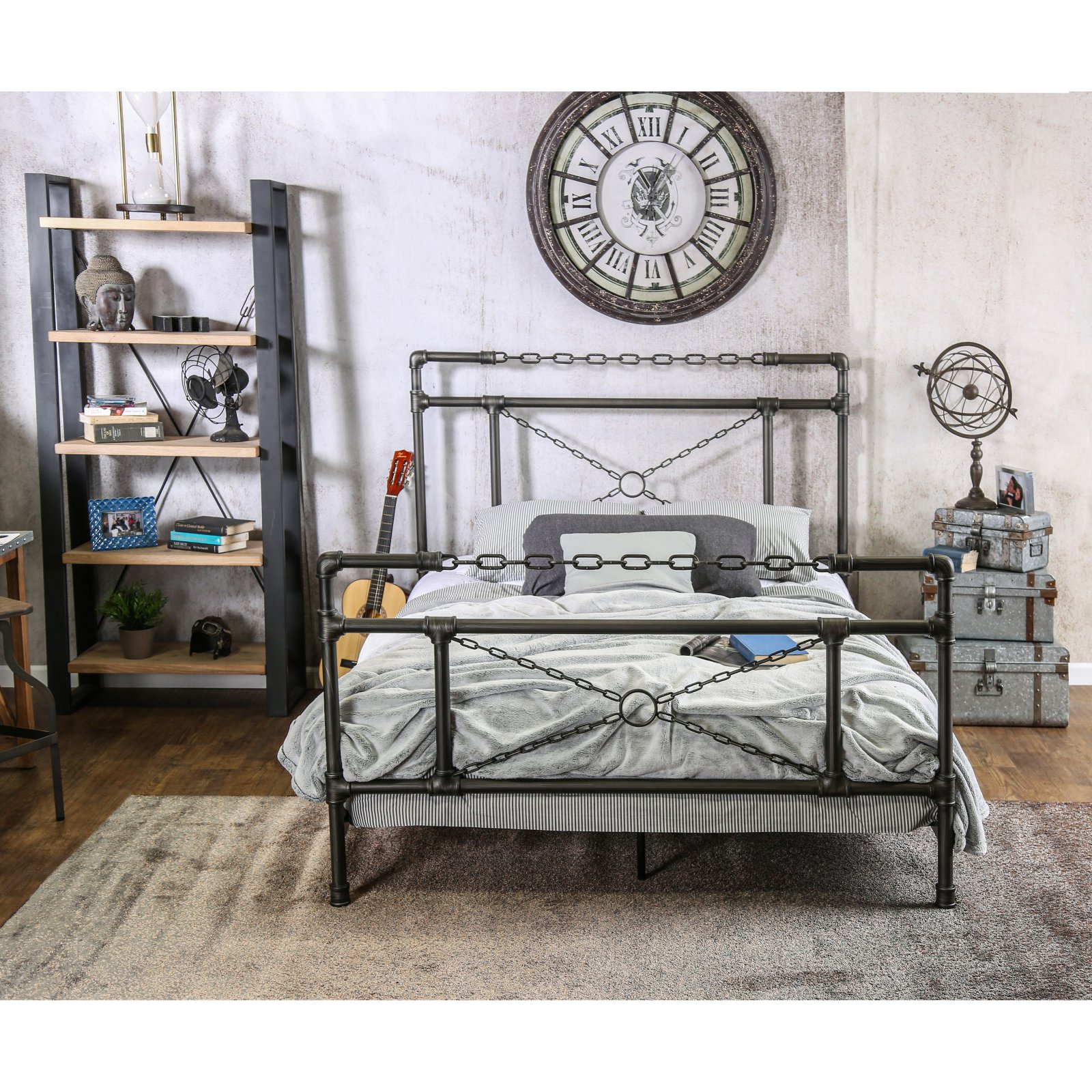 Furniture of America Valijean Metal Bed