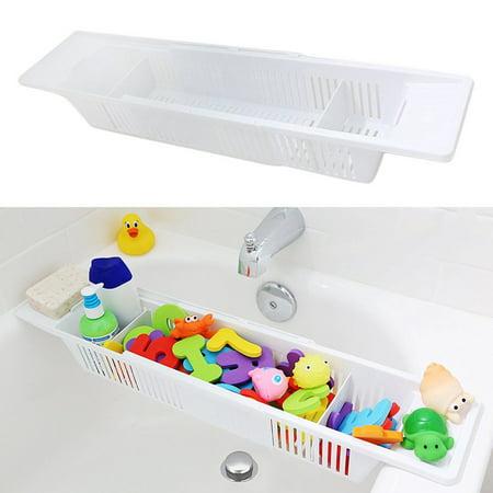 Moaere Collection Kids Bath Toy Organizer and Bathtub Storage Basket Children Tub Shower Toy Organizer Holder
