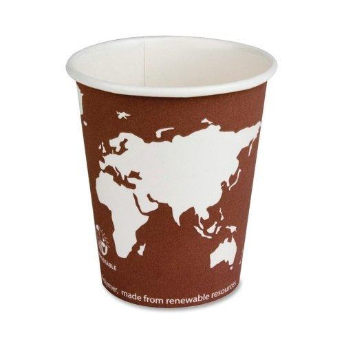 Eco-products Renewable Resource Hot Drink Cup - 8 Oz - 50/pack - Paper (BHC8WAPK)