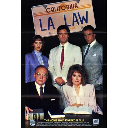 L.A. Law POSTER Movie Mini Promo