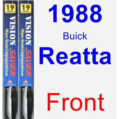 - 1988 Buick Reatta Wiper Blade Set/Kit (Front) (2 Blades) - Vision Saver