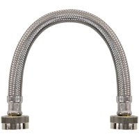 Certified Appliance Accessories WI12SSFF Braided Stainless Steel Water-Inlet Hose, 1ft