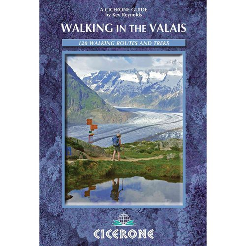 Cicerone Guide Walking in the Valais