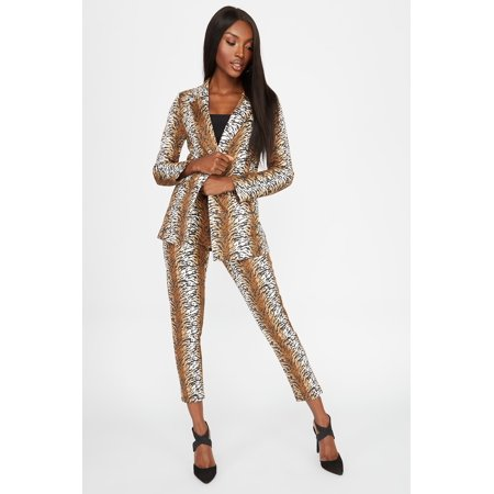 Urban Planet Women's Tiger Faux-Suede Pant - image 4 of 4