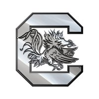 South Carolina Gamecocks Premium Metal Auto Emblem