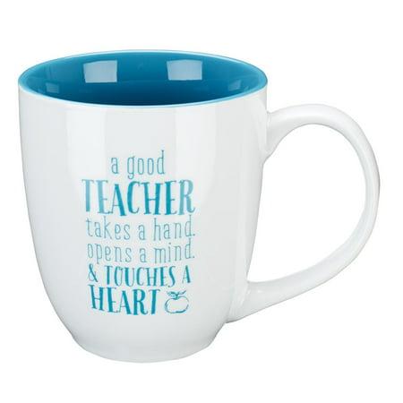 Easy Halloween Teacher Gifts (7.99: Mug Good Teacher Blue 1 Corint)
