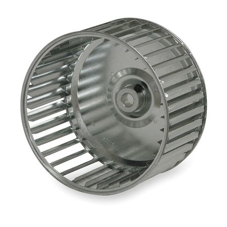 Direct Drive, Single Inlet Forward Curve Blower Wheel, Revcor, Q381-206S L
