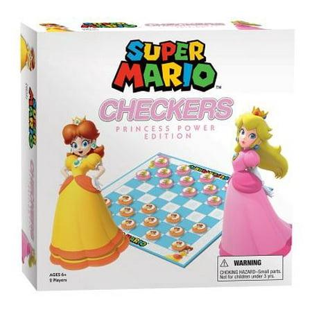 Princesses In Mario Games (Super Mario™ Checkers: Princess Power)
