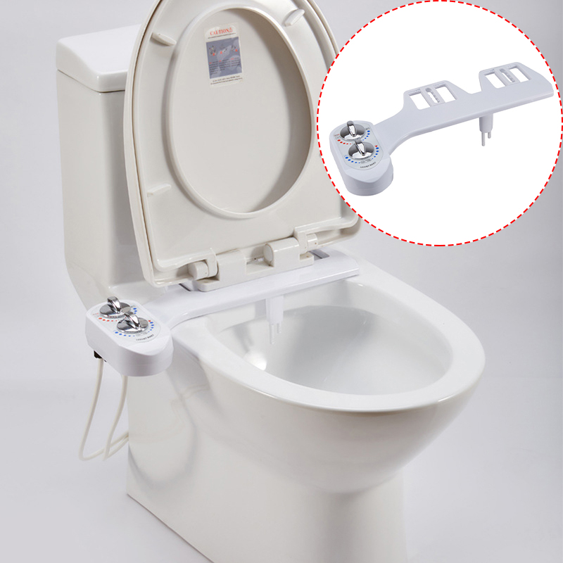 NEW Bidet Fresh Water Spray Non-Electric Mechanical Self-Cleaning Nozzles