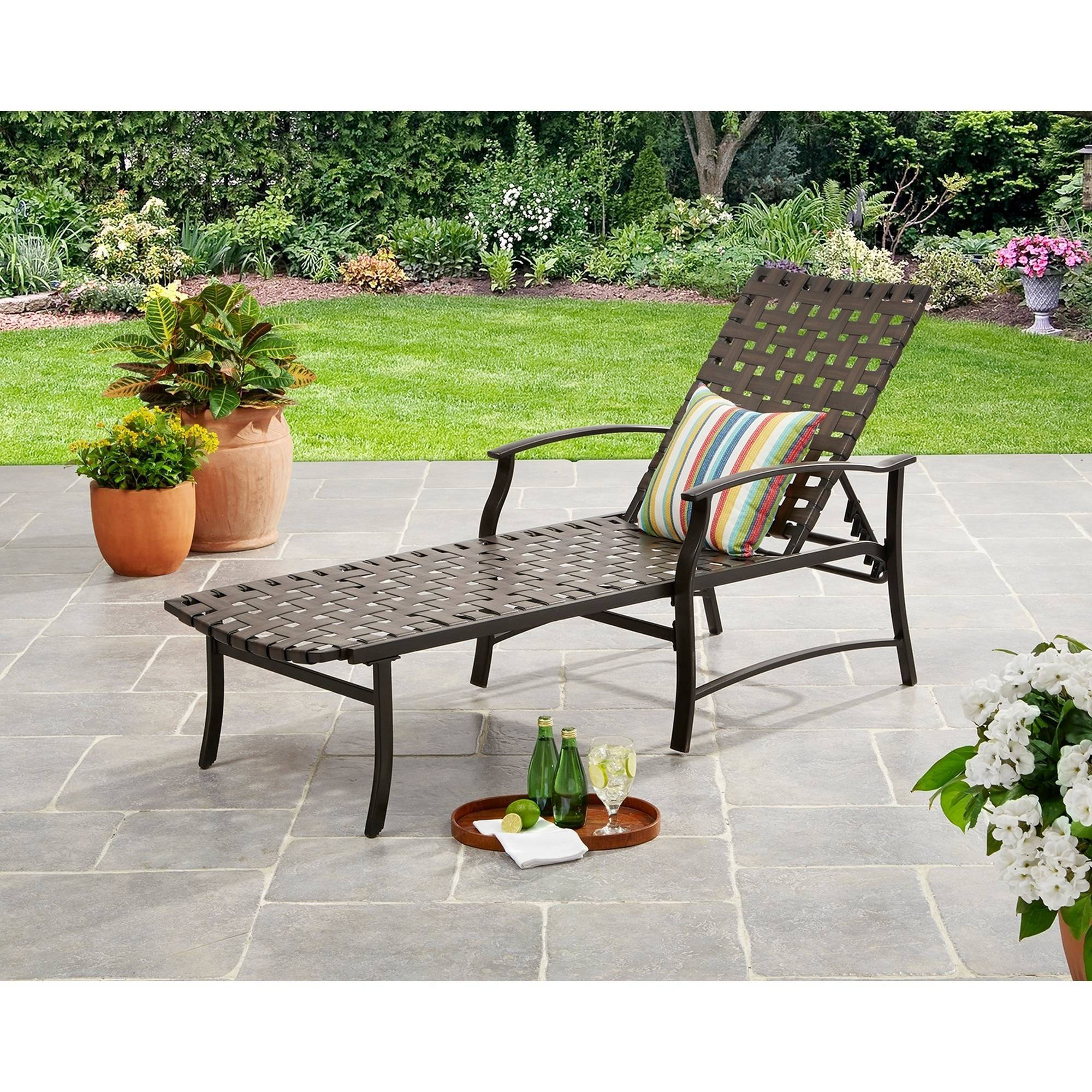 Mainstays Willow Valley Chaise Lounge