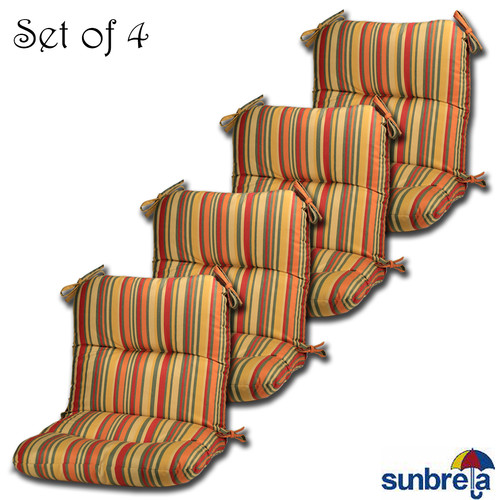 Comfort Classics Inc. Outdoor Sunbrella Chair Cushion (Set of 4)