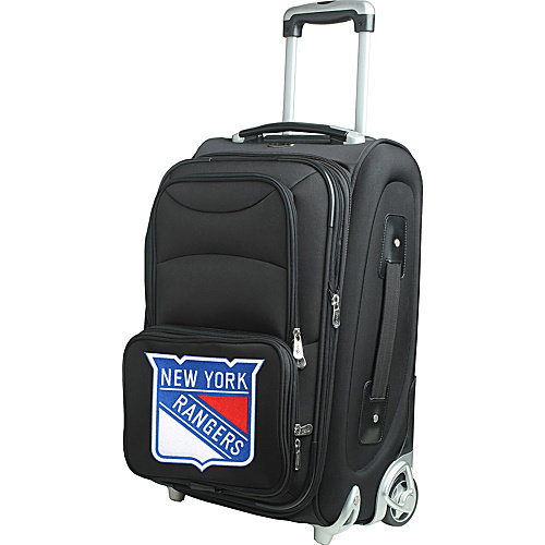 "Denco NHL 21"" Carry-On, New York Rangers by Mojo Licensing"