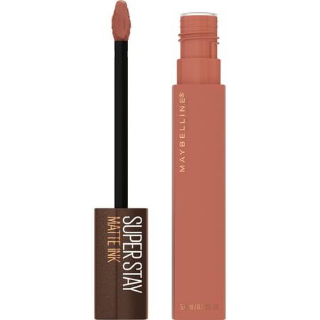 Maybelline SuperStay Matte Ink Liquid Lipstick, Coffee Edition, Hazelnut Hypnotizer, 0.17 fl. oz.