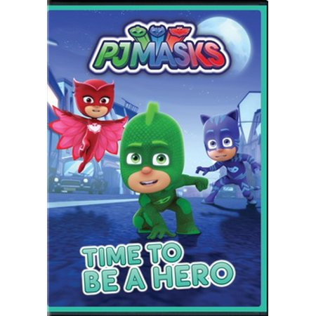 PJ Masks: Time to Be a Hero (DVD) (Halloween Night In Usa)