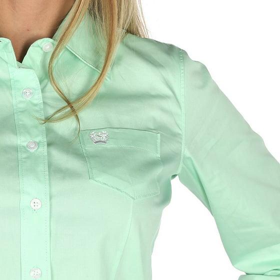 23d08a249 Cinch Apparel - Cinch Apparel Womens Mint Green Button Up Shirt ...