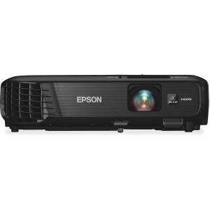 Epson Powerlite 1224 Lcd Projector   Hdtv   4 3   Front   200 W   1024 X 768   Xga   3200 Lm   Wireless Lan   Black Color   2 Year Warranty Xga Wl