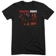 Criminal Minds The Crew Mens Tri-Blend Short Sleeve Shirt