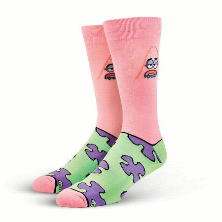 Cool Socks Spongebob & Patrick Starr Knit Socks, 6-13 - Spongebob Stock