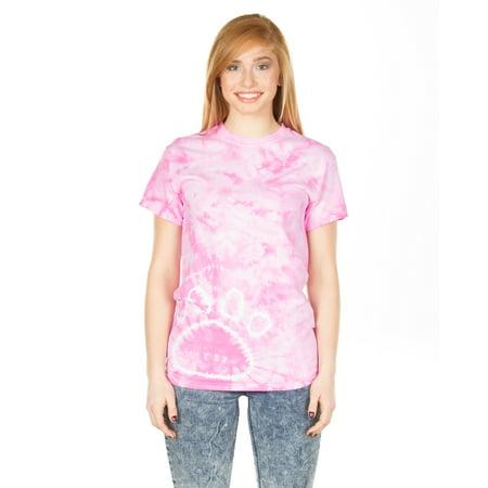 Paw Print Tie-Dye T-Shirt