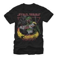 Star Wars Men's Boba Fett Tatooine T-Shirt