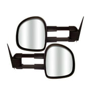 CIPA Mirrors 73200 Extendable Replacement Mirror Set; Electric; Pair;