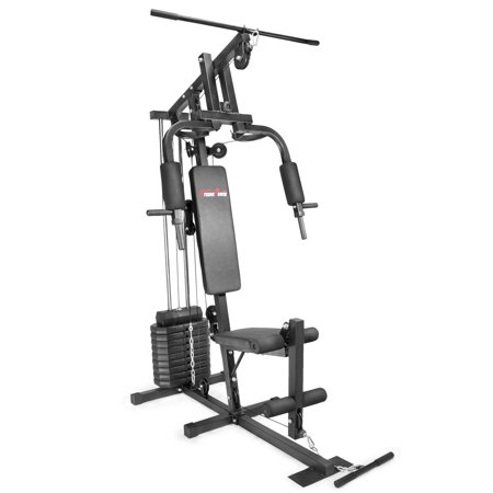 xtremepowerus multifunction home gym fitness station