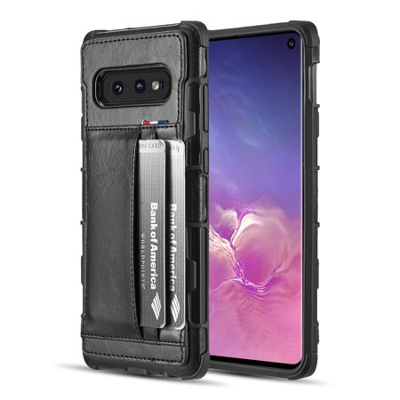 Travel Light 2 Card Hybrid Case for Samsung Galaxy S10e - Black