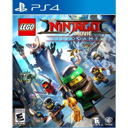 LEGO Ninjago Movie Video Game, Warner Bros, PlayStation 4 (Lego Ninjago Ds Game)