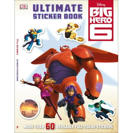 ULTIMATE STICKER BOOK: BI G HERO 6: BIG HERO 6](Big Hero 6 Hiro)