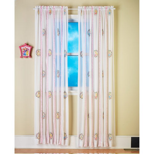 Disney Princess Enchantment Tab-Top Curtain Panel